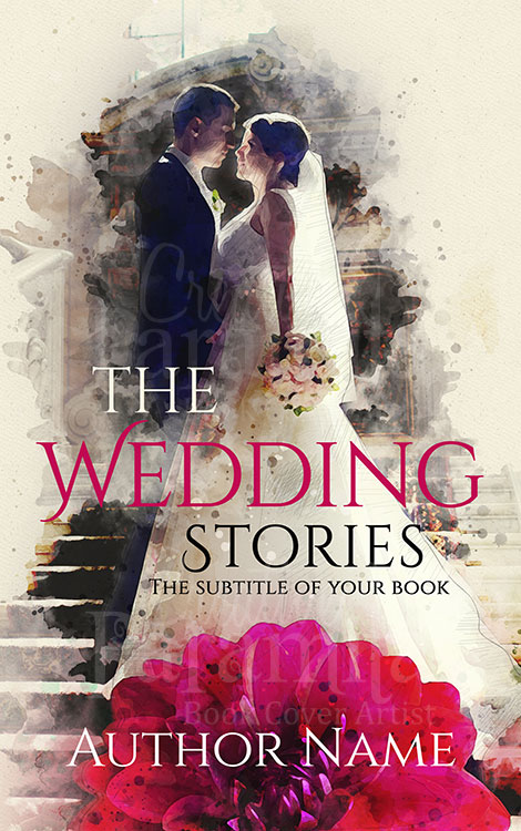 wedding premade ebook cover