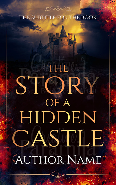 castle book cover design