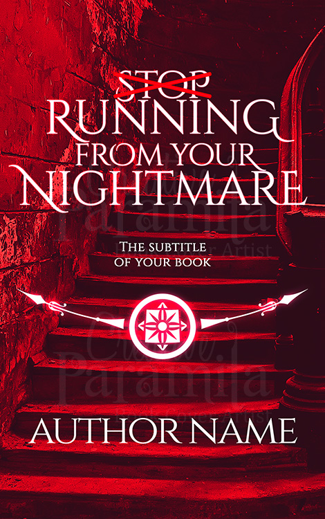 horror premade ebook cover design