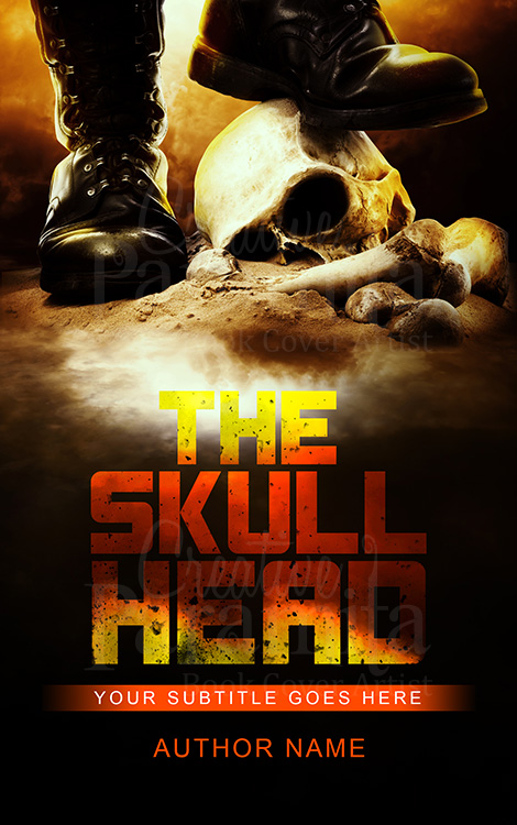 action premade book cover