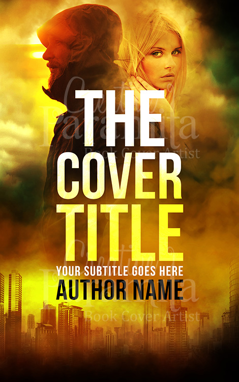 Thriller premade eBook cover design