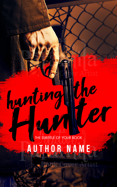 action premade book cover design
