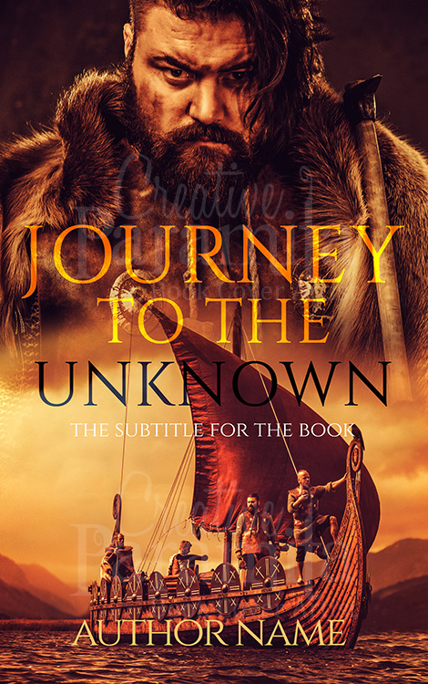 viking premade ebook cover design