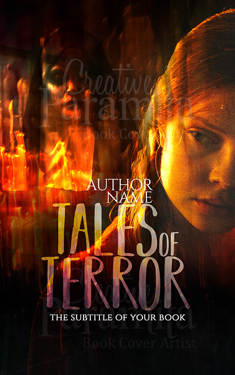 horror premade book cover