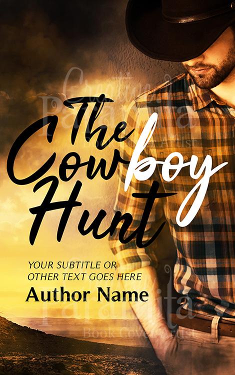 cowboy romance premade book cover