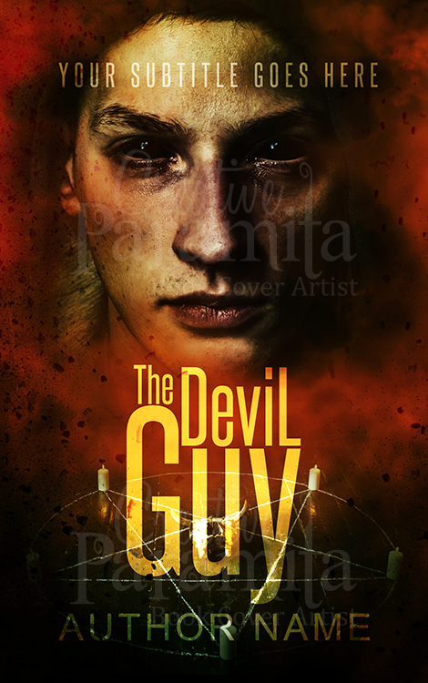 devil premade book cover design