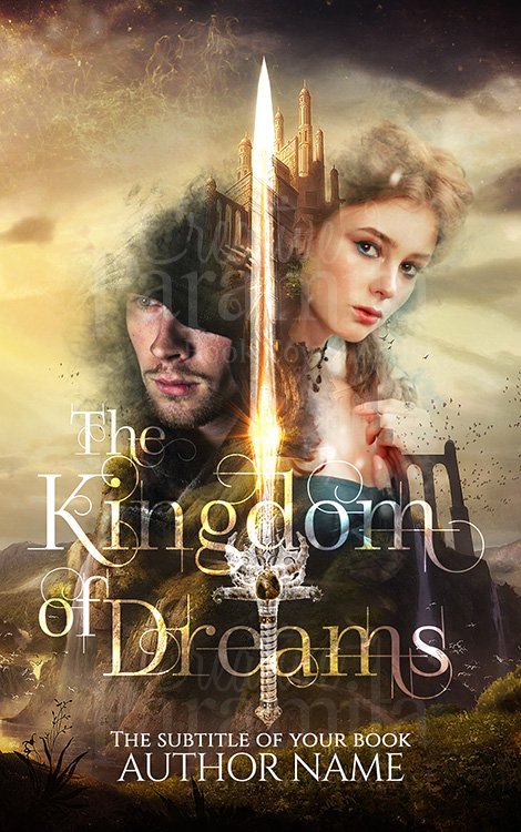 YA fantasy premade book cover design