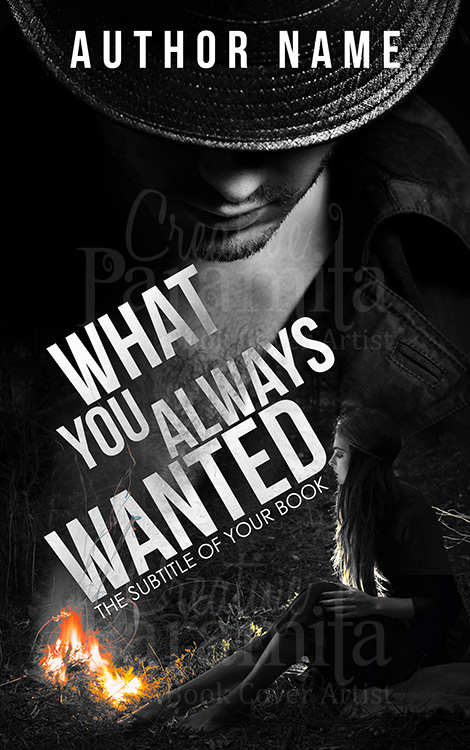 cowboy premade book cover design