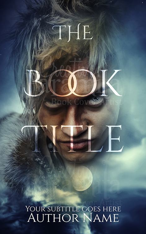 werewolf premade book cover design