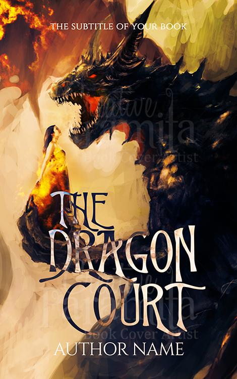 fantasy premade book cover design