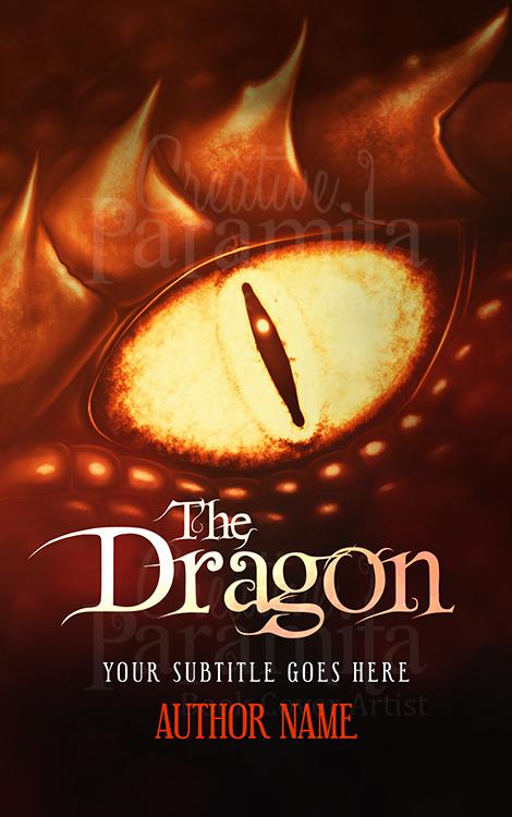 dragon premade book cover