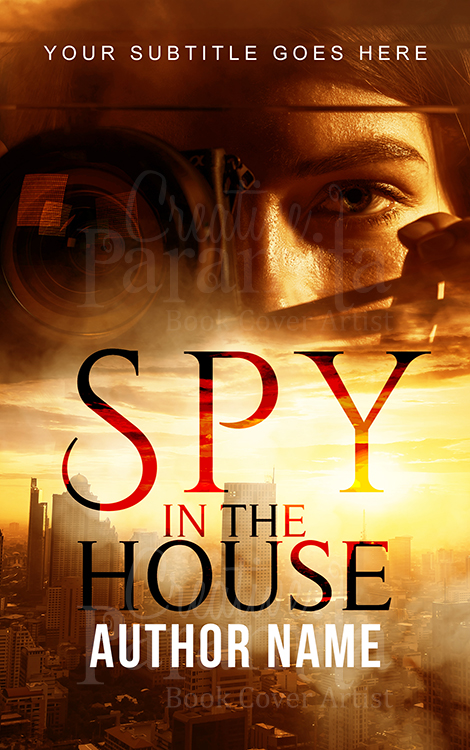 spy book cover