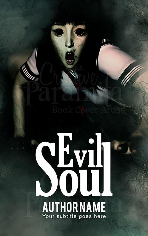 horror book cover design