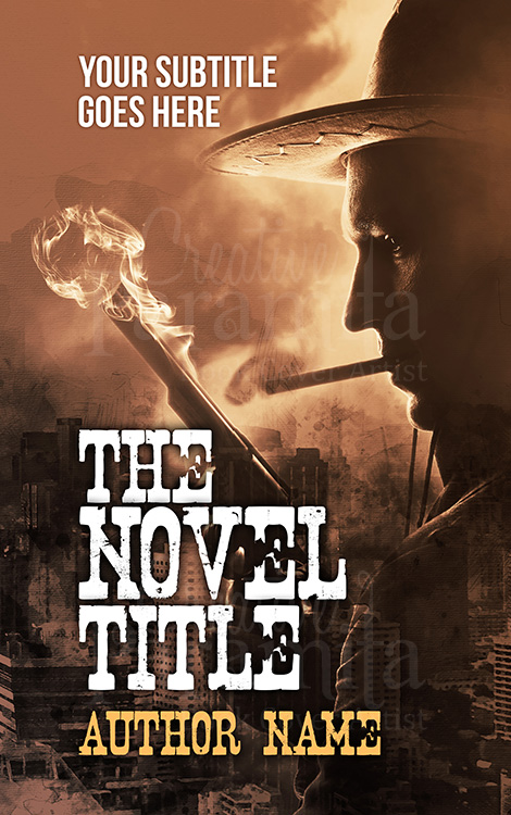 Texas thriller premade book cover design