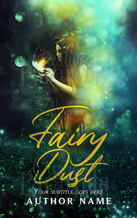 fairy fantasy premade book cover