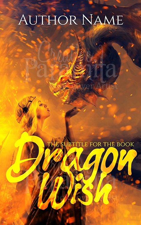 fantasy dragon ebook cover