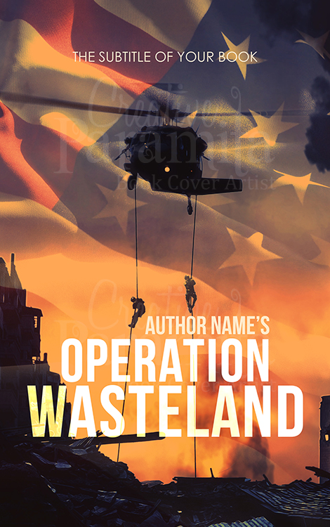 war premade eBook cover