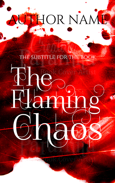 blood premade book cover design