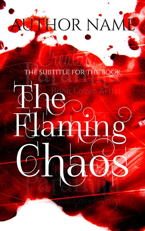 blood premade book cover design