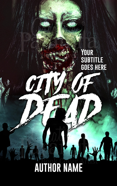 zombie book cover design