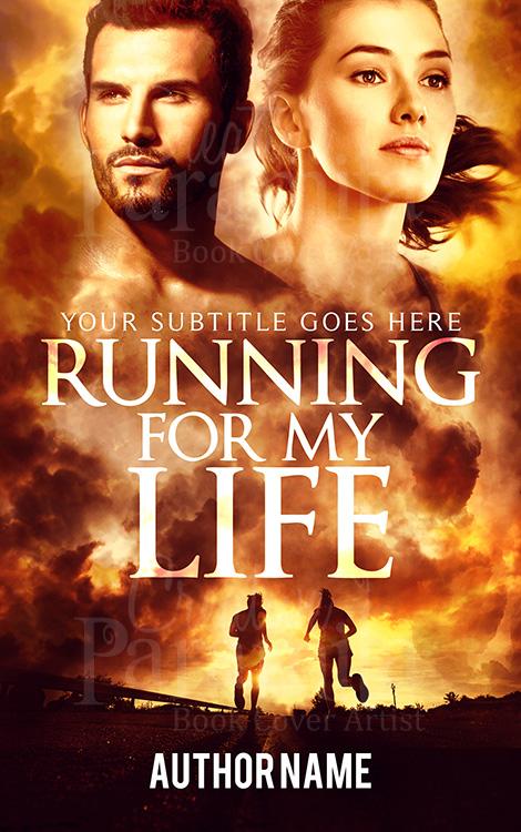 run sports thriller premade book cover