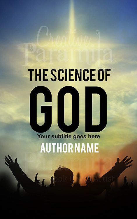 Religious God premade book cover