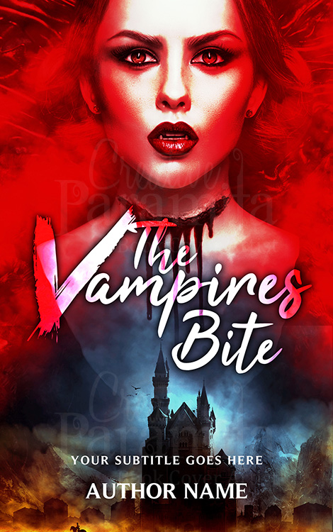 vampire premade book cover design