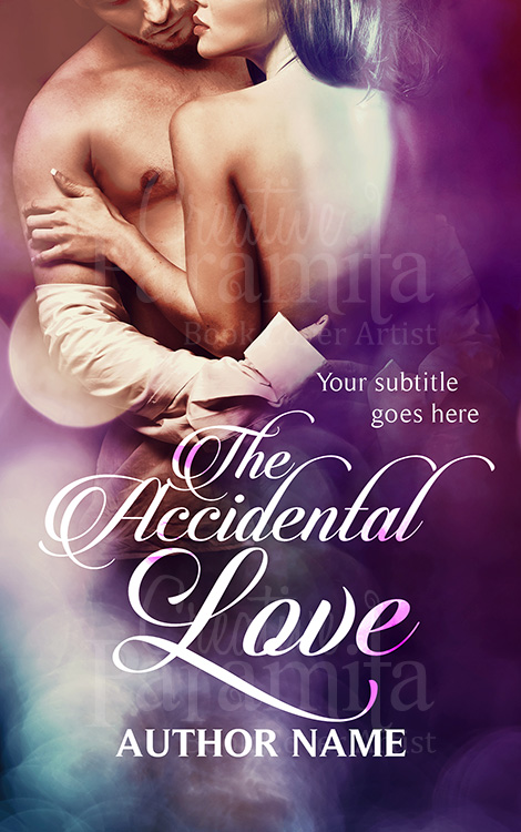 Erotic romance book cover design