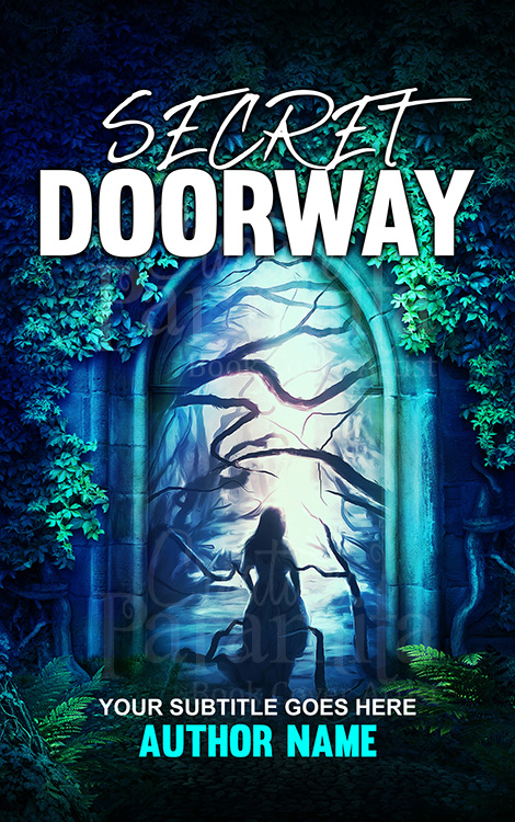 portal doorway book cover design