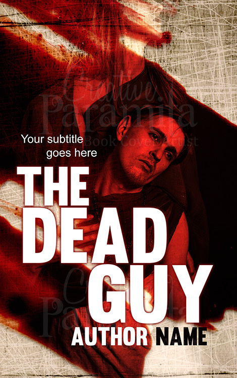 murder mystery premade book cover design