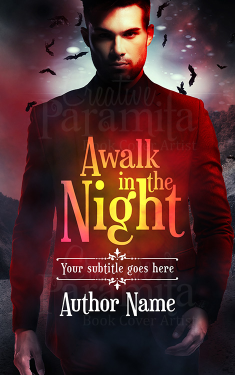 vampire book cover design