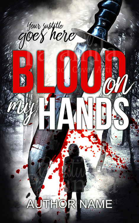 blood knife book cover
