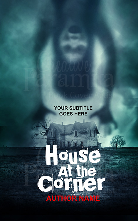 horror premade book cover design