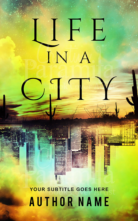 city book cover design