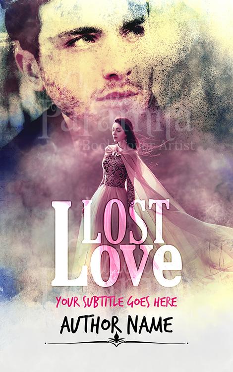 fantasy romance book cover design