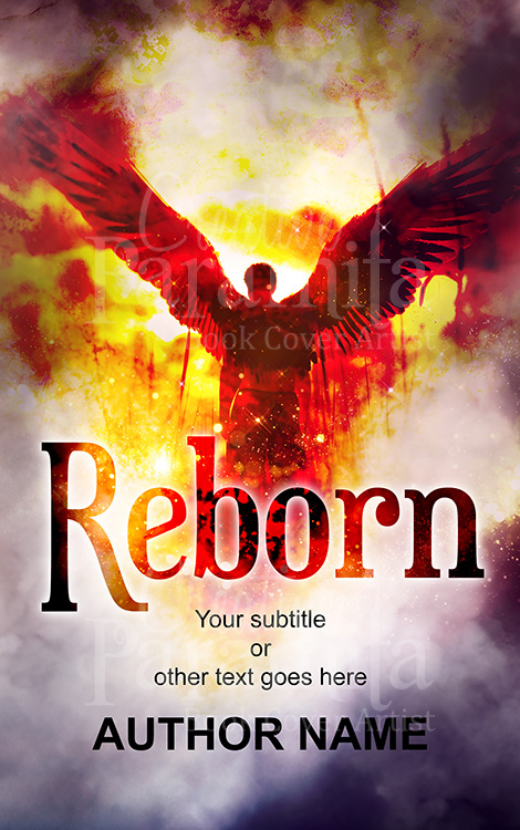 phoenix premade book cover design