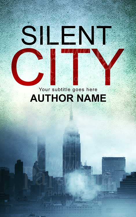 city premade book cover design