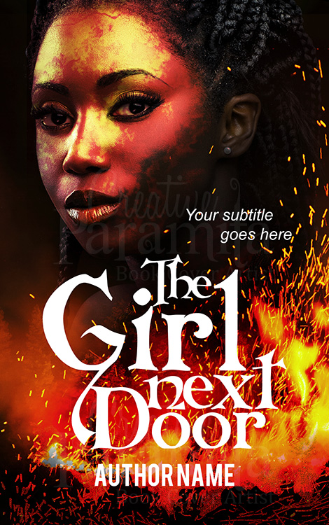 black girl book cover design