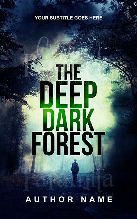 forest premade eBook cover design