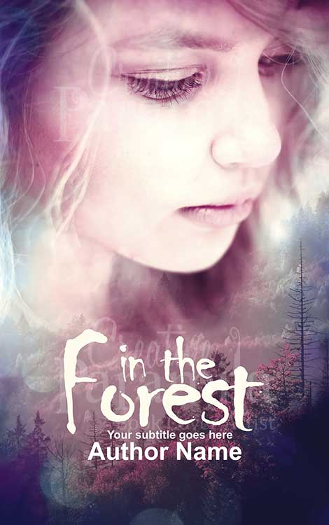 forest premade book cover design