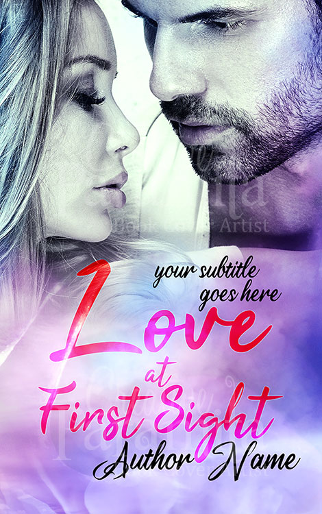 romance premade book cover design