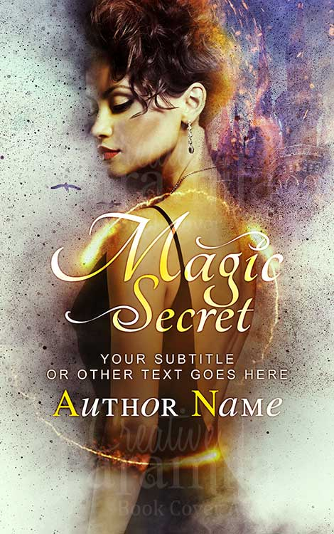 fantasy premade book cover design