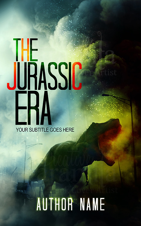 dinosaur book cover design