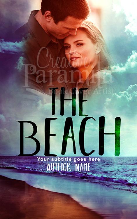 sea beach romance book cover design