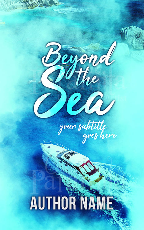 sea non fiction book cover design