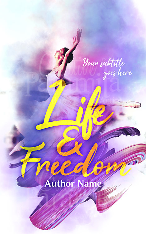 freedom flying book cover design