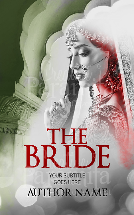 Indian bride nook cover design
