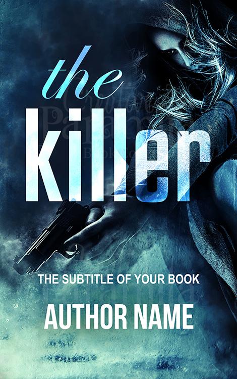 gun thriller book cover design