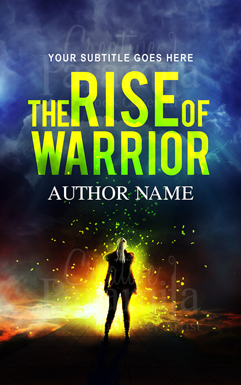 fantasy warrior premade book cover design