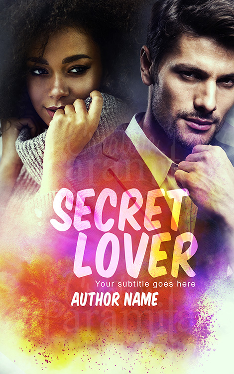 Romance premade book cover for sale